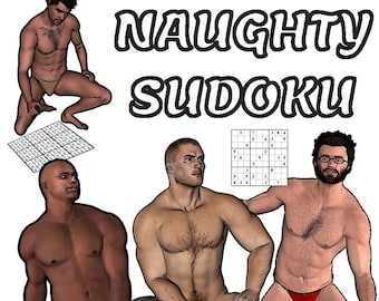 Naughty Sudoku Coloring Book for Adults