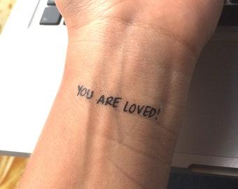 Bible Verse Tattoo Etsy