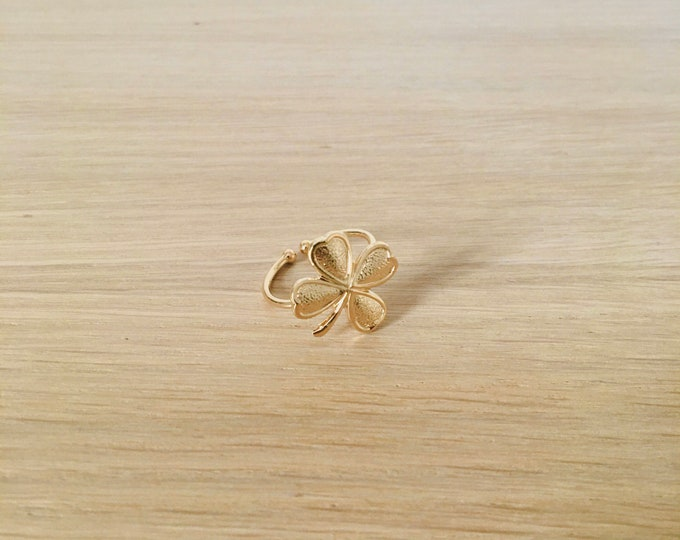 Four leaf clover ring - Bijoux Intuitu Paris