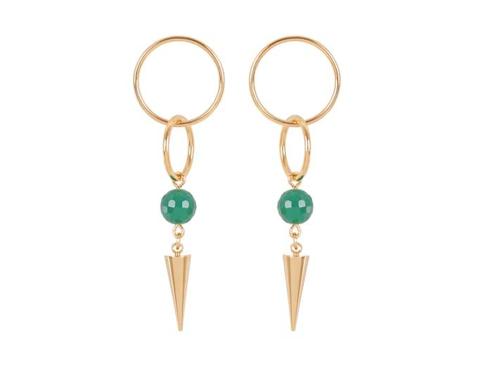 SHARON pendant earrings: pics and pearl set