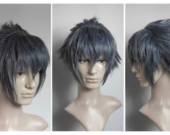 Made to orer: Noctis Lucis Caelum wig cosplay FF XV Final Fantasy