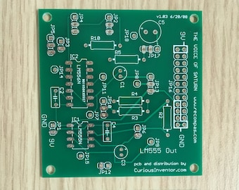 Voice of Saturn Synthesizer PCB