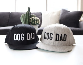 37b72bb9 DOG DAD SNAPBACK | Snapback Hats, Gifts for Him, Dog Dad Gift, Father's Day  Gift