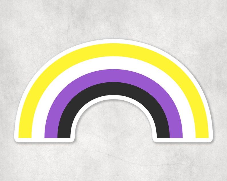 Pride Pack Non-Binary Pride Stickers