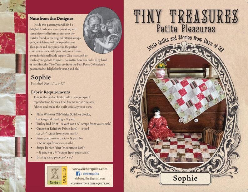 Tiny Treasures Petite Pleasures  SOPHIE image 0
