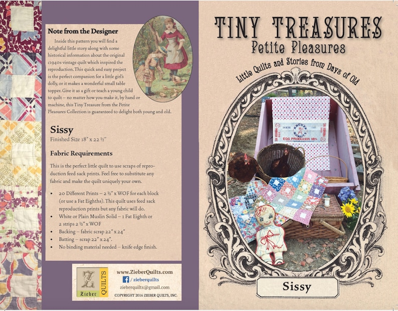 Tiny Treasures Petite Pleasures  SISSY image 0