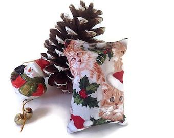 cat toy, cat furniture, catnip toys, christmas gift, christmas stockings, pillow bag, cat lover gift, kitten play, cat collar, cat tree