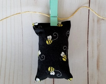 catnip cat toy, toy for cat, black bees, organic catnip, unique cat toy, original cat toy, pillow shape toy, cat lover gift, christmas gift