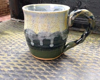 Twisted Handle Mug