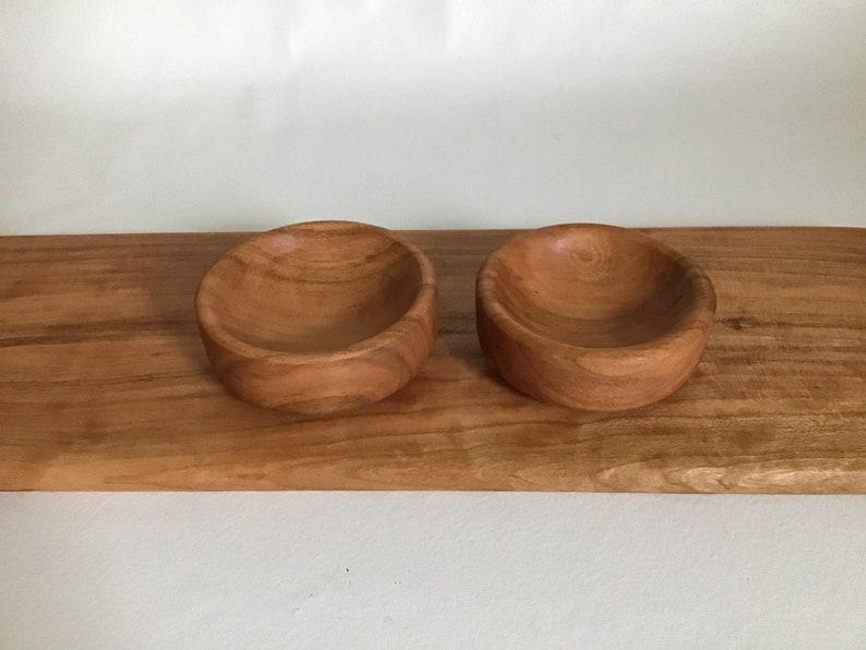 Pair of Spice Bowls Salt Caddy Pinch Bowl Mise en Place Food Safe