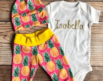 266c0680d62 Pink Pineapple Coming Home Outfit