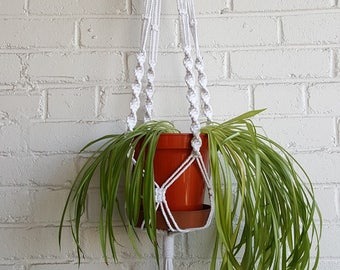DIY Macrame Kit for Plant Hanger, Recycled Cotton Cord, Easy Instructions & Plastic Free Packaging, ITV This Morning, Beginner or Gift