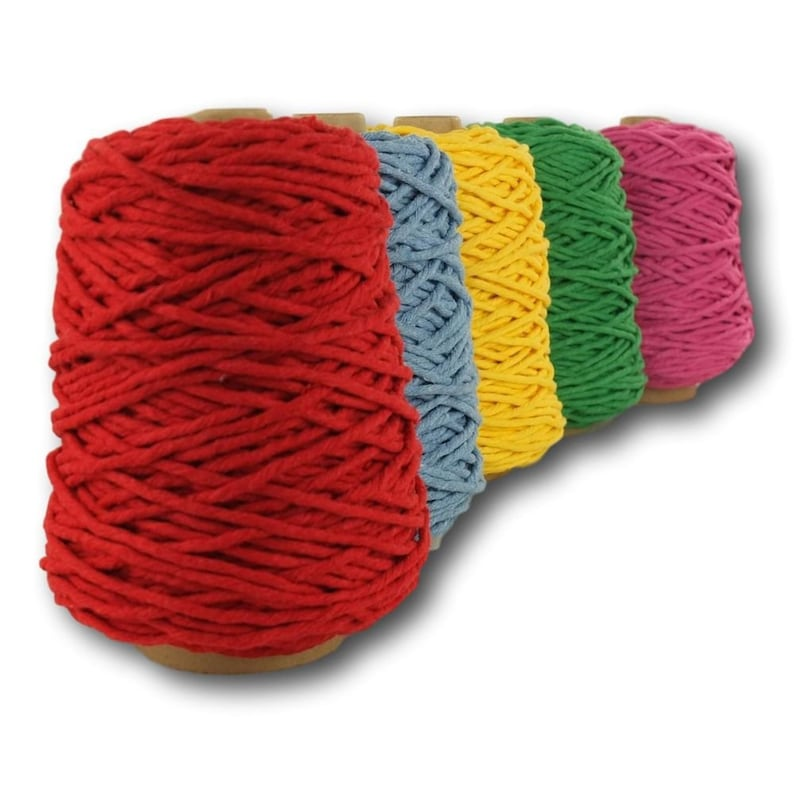 """1kg Rope Thick Strong Recycled Cord twisted String Rope 4mm  24/""""22"""
