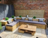 Waterproof rattan furniture cushion covers, pallet furniture cushion covers, bespoke furniture cushion covers, garden furniture