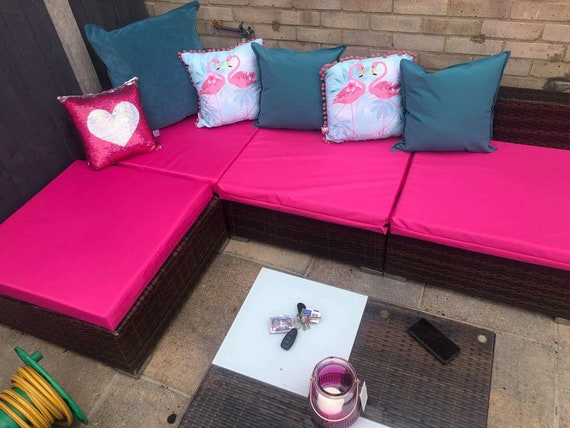 Waterproof Rattan Furniture Cushion, Garden Furniture Cushions