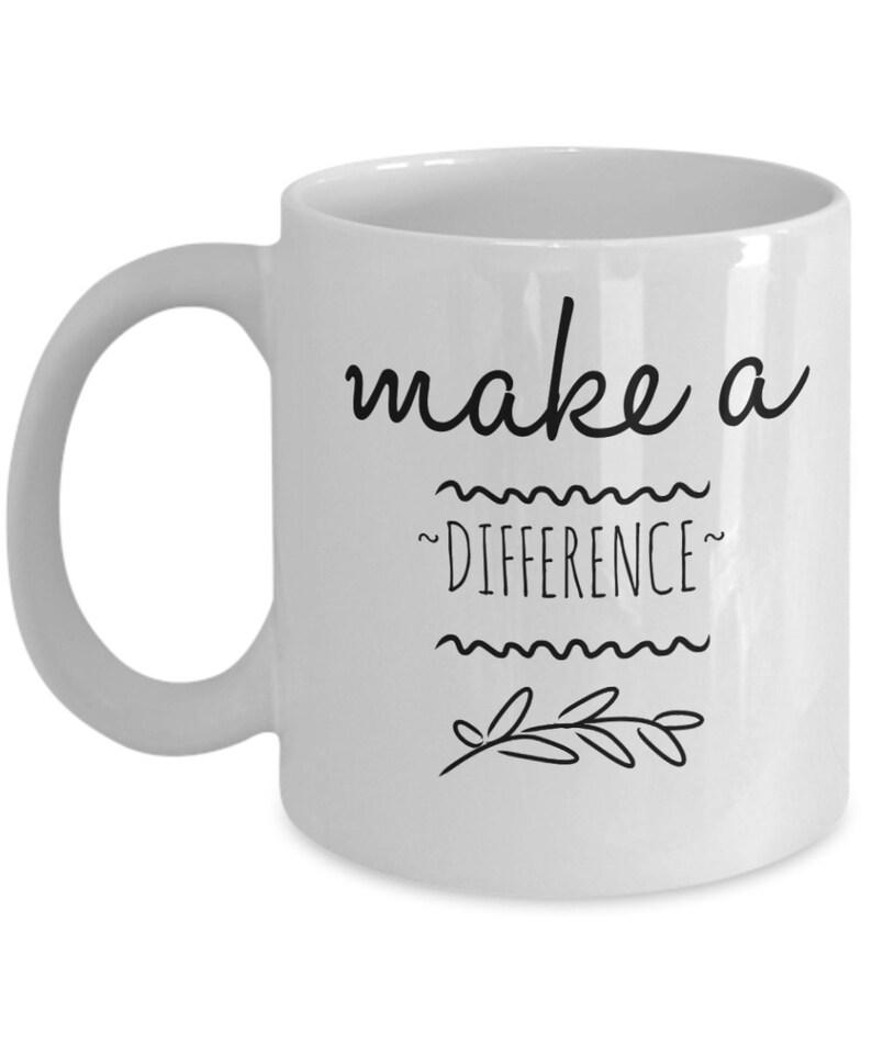 Une Mugs Café Motivation Différence Tasses Faire Mug À Inspiration 0wOPkn