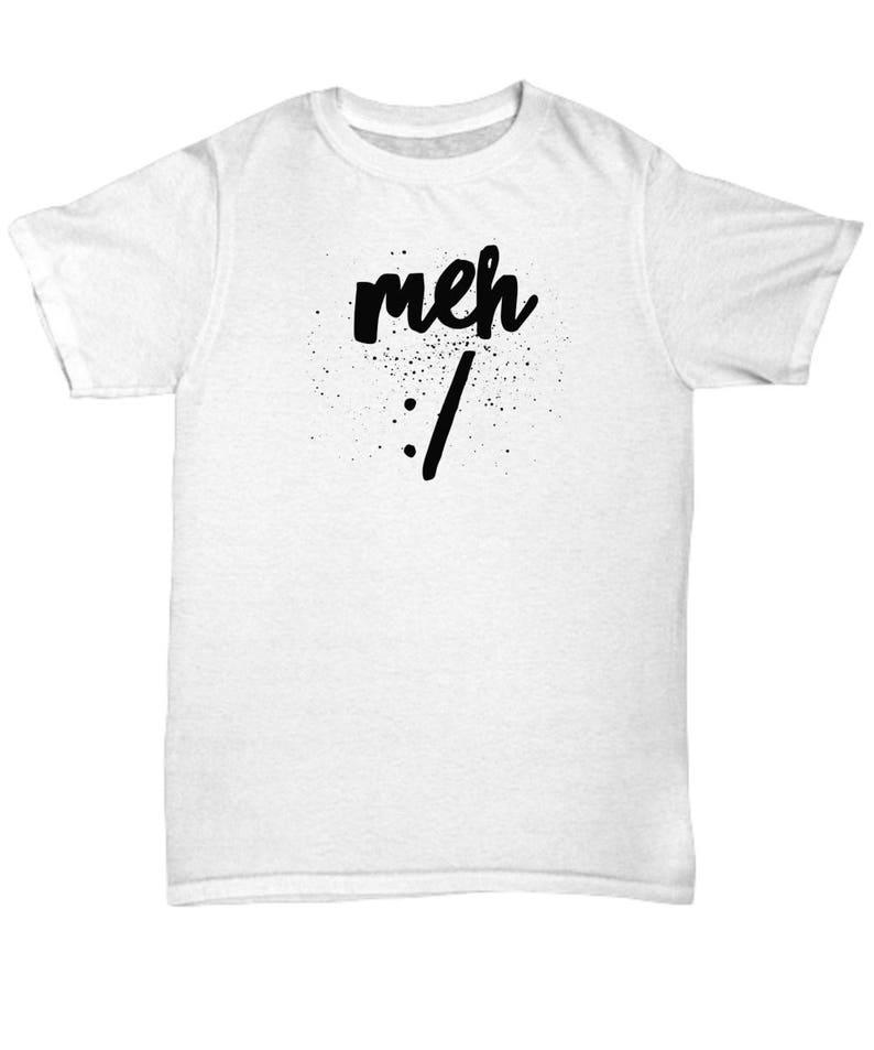 688546389 Meh T-Shirt Meh Tshirt Meh Shirt Meh Tee Meh Tees Just | Etsy