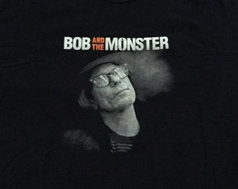 Bob and the Monster shirt-Bob Forrest-Thelonious Monster