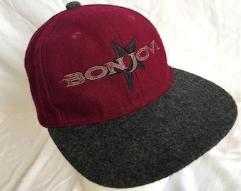 Vintage Bon Jovi cap c59d9648a2b7