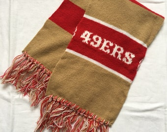 49ers scarf | Etsy  for sale