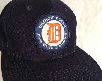 Vintage Detroit Tigers cap-Sports Specialties wool cap bb0a5b5f872d