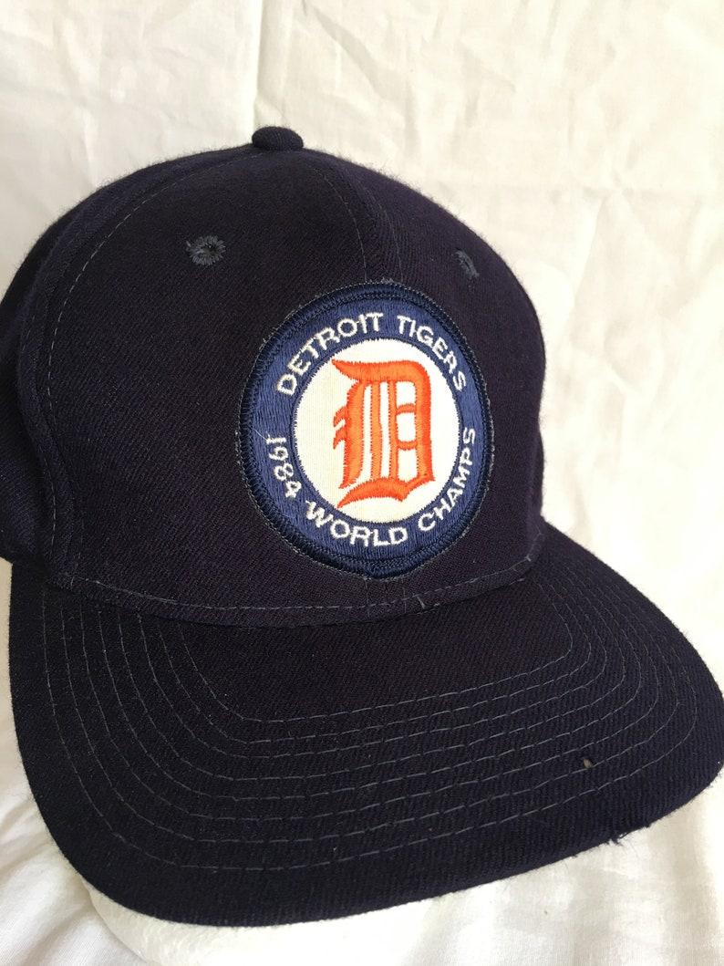 597dbebc52d Vintage Detroit Tigers cap-Sports Specialties wool cap