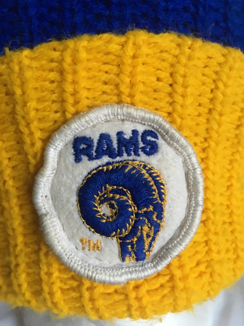 Vintage Los Angeles Rams beanie