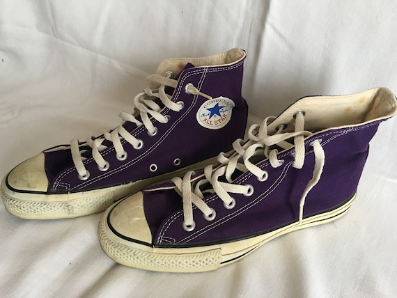 0383bf3d1267 Vintage Converse all star shoes-made in USA-size 7-NOS