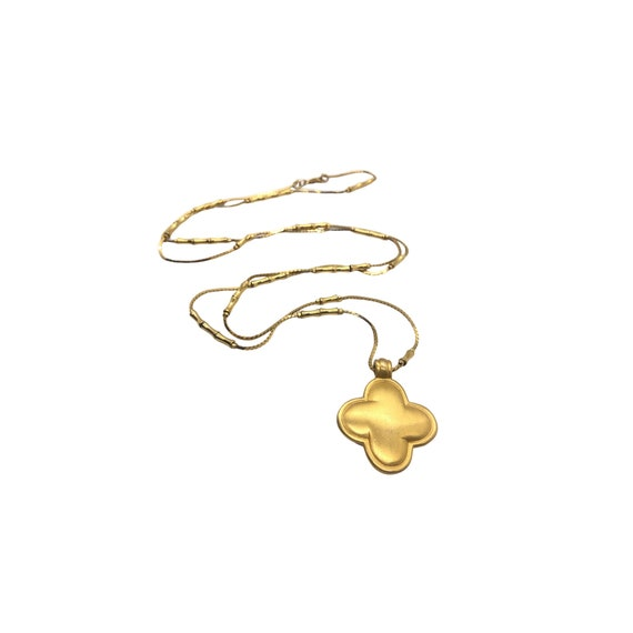 Gold Monet Chain with Pendant | Monet Jewelry | Tr