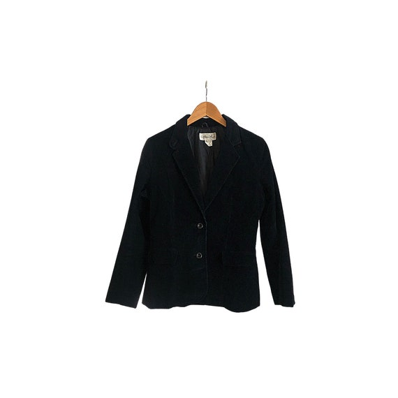 Vintage Corduroy Blazer   Fitted Blazer   Cropped