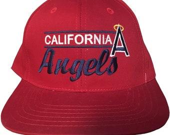dbe5cc69c73 Vintage California Angels Snapback Hat   American needle hat   Los Angeles    MLB Baseball