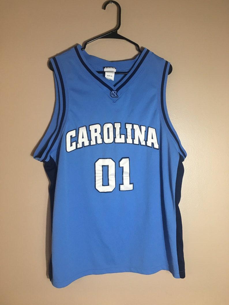 700873a91e190b Vintage North Carolina Tar heels Basketball Jersey   90 s
