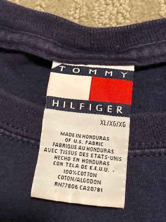 Vintage Tommy Hilfiger Tshirt / Tommy Hilfiger Fl… - image 9