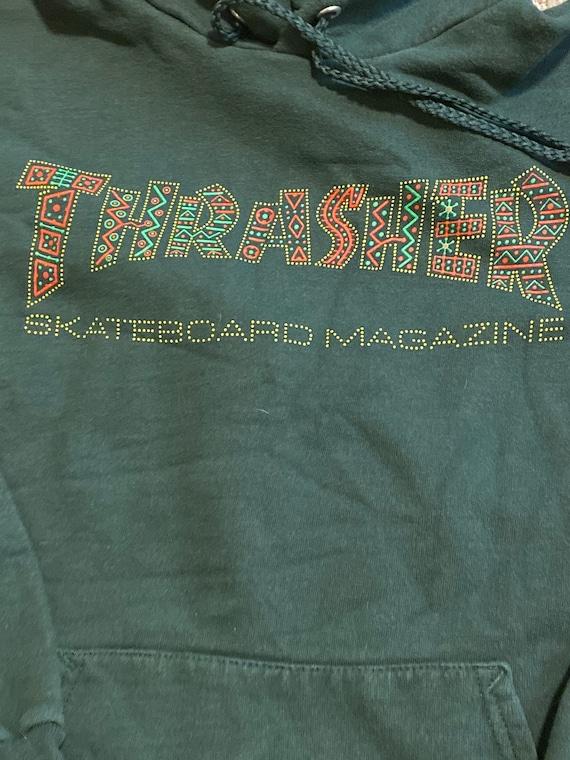 Vintage Thrasher Magazine Hoodie / Skateboard / Sk