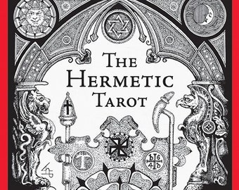 Hermetic Tarot, Secret Order of the Golden Dawn, Esoteric, Angelic, Sacred Geometry, Numerology, Kabbalah, Divination, Guidance, Metatron