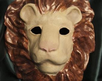 Bronze-Maned Lion Mask