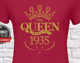 83rd Birthday Gifts Presents Year 1936 Unisex Ringer Vintage T-Shirt Aged To Old