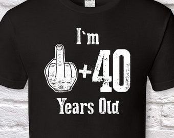Im 1 40 Years Old 41st Birthday Gifts For Men Gift Tshirt Father Day