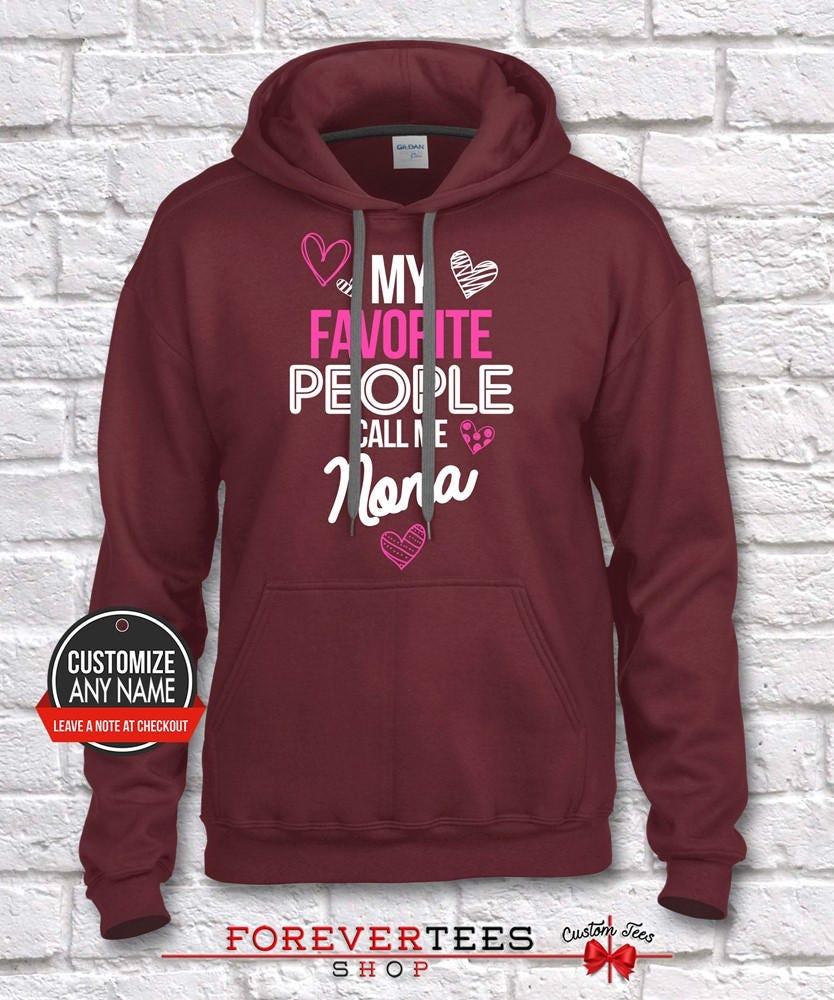 My Favorite Me People Call Me Favorite Nona, Grandma Gift, Nona Birthday, Mother's Day, Nona Hoodie, Nona Gift Idea, Nona Gift, Baby Shower, Pregnancy c8edd7