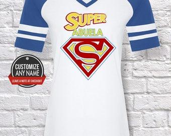 Super Abuela, Grandma Gift, Abuela Birthday, Mother's Day, Abuela Tshirt, Abuela Gift Idea, Baby Shower,