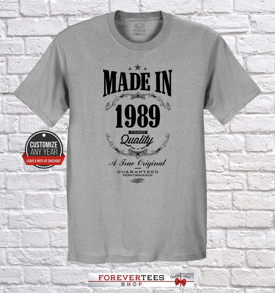 Made In 1989 30th Birthday 30th Birthday Gifts For Women