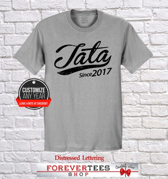 family apron tata shirt Tata gift tata love tata birthday personalized gift family shirt birthday gift pregnancy announcement