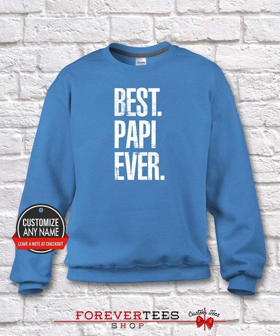 8efdeabd22db Best Papi Ever Grandpa Gift Papi Birthday Father's Day | Etsy