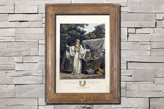 An Arch Druid In His Judicial Habit Fine Art Giclee Etsy