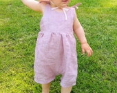 Sundress and romper pattern, sunsuit sewing pattern, Girls sun dress pattern, baby summer romper pattern
