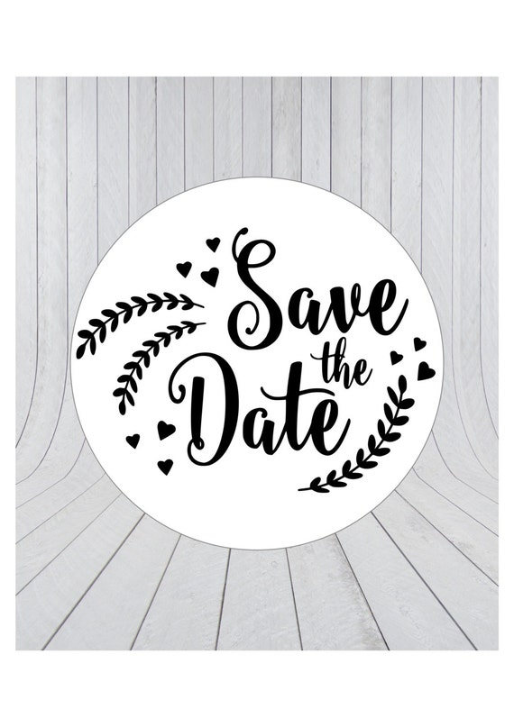 24 x save the date stickers engagement stickers save the etsy