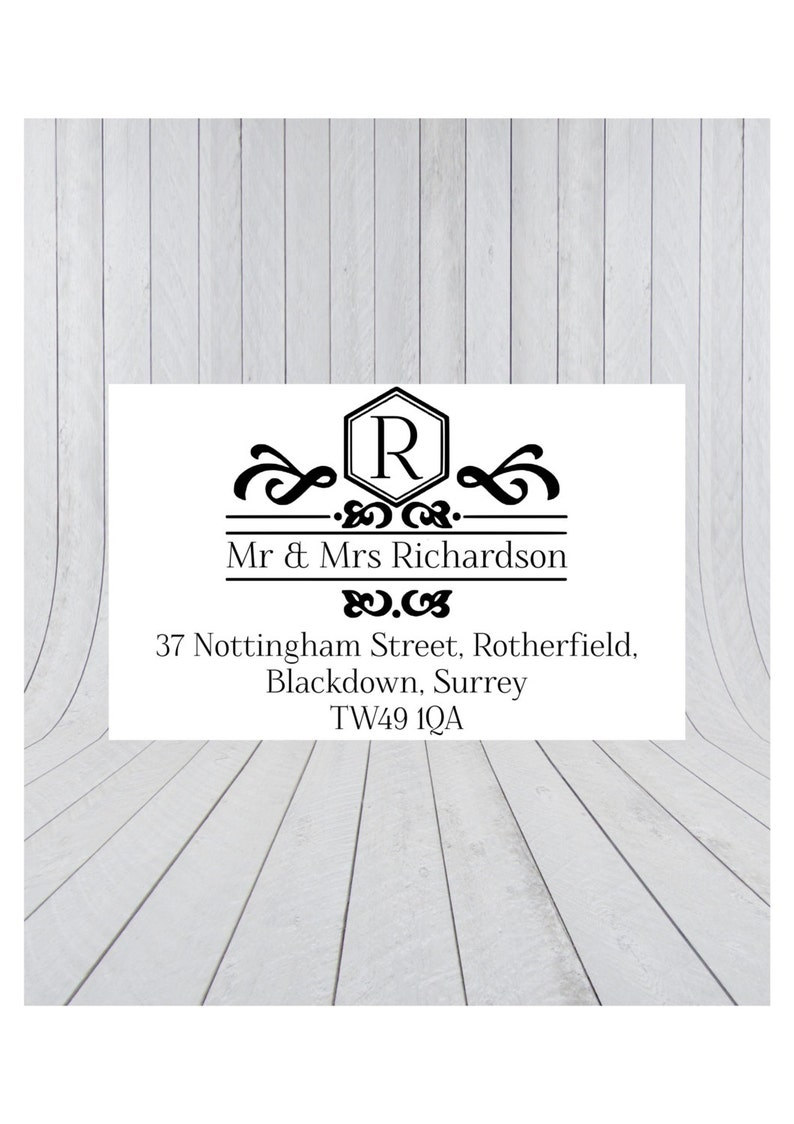 36 x return address labels address stickers personalised address stickers custom address labels 023