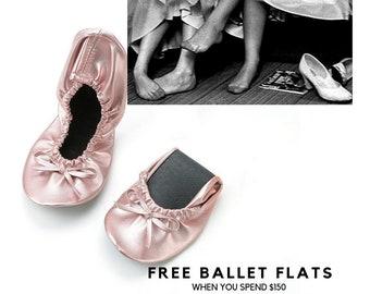 fc3219535 Bridal slipper   Wedding slippers   Ballerina slippers   Slippers for  wedding   Bridesmaid slippers   Foldable flats   Wedding ballet flat