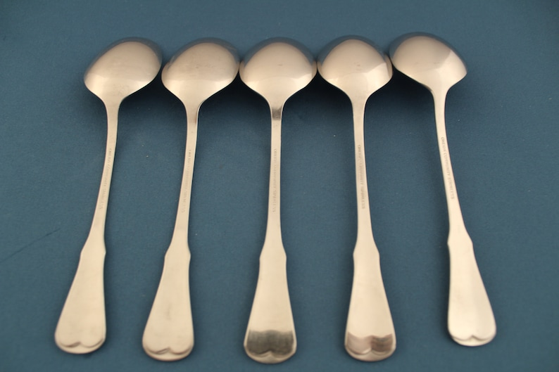 "Wadefield by Kirk-Stieff Sterling Silver Bouillon Soup Spoon 5 1//2/"" Antique"