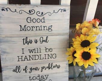 Good Morning Jesus Etsy
